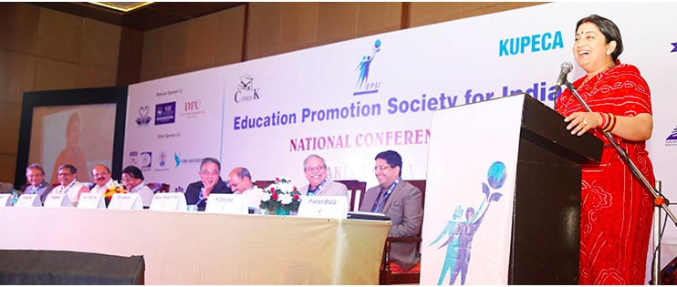 "Education Promotion Society for India (EPSI) Conference on ""Making India a Global Hub for Quality Higher Education"""